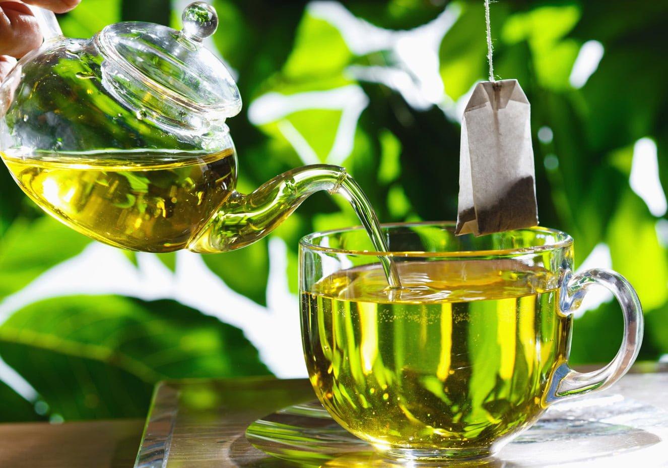 chá verde como um dos remédios naturais para gastrite