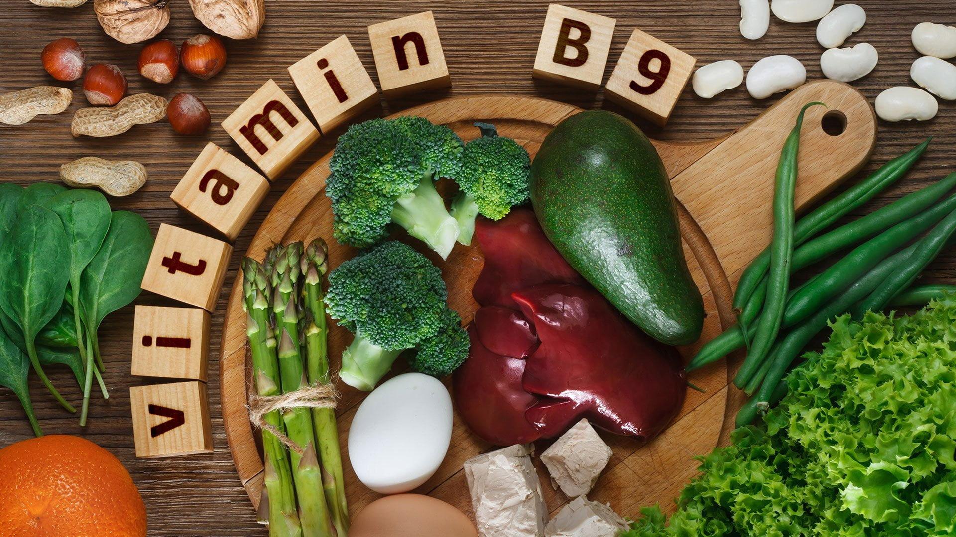 Alimentos ricos em vitamina b9 ou acido fólico
