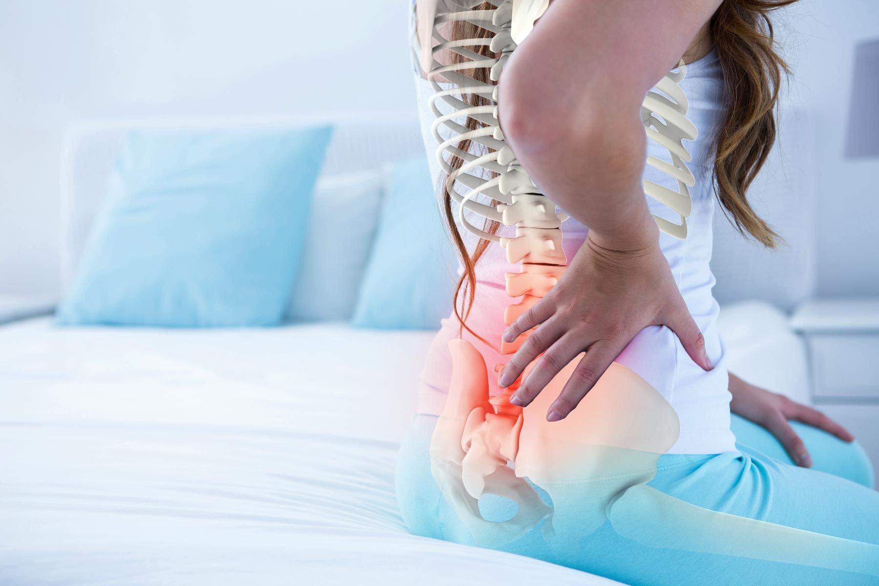 dor nas costas na região lombar
